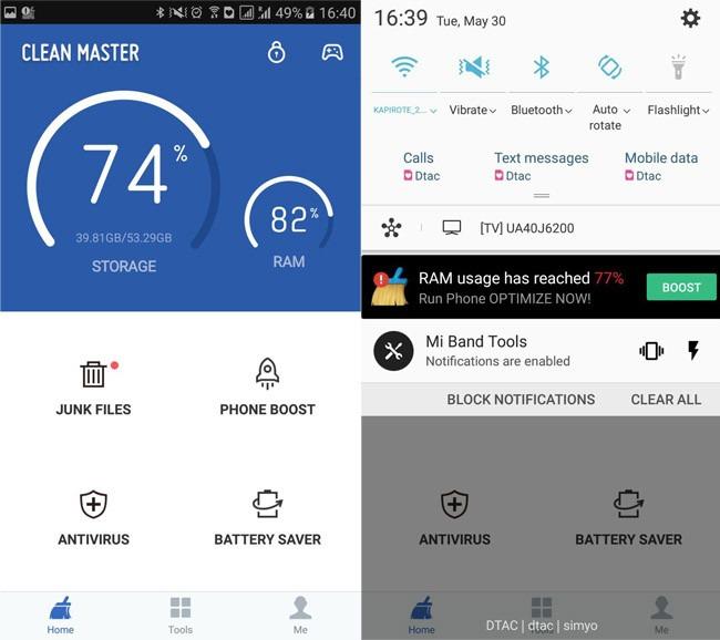 app clear master - 7 de las Apps que más recursos consumen en Android