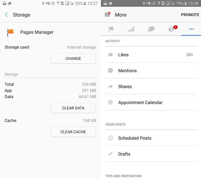 app facebook admin pages - 7 de las Apps que más recursos consumen en Android