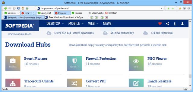 navegador kmeleon - Los mejores Navegadores para PC con pocos recursos