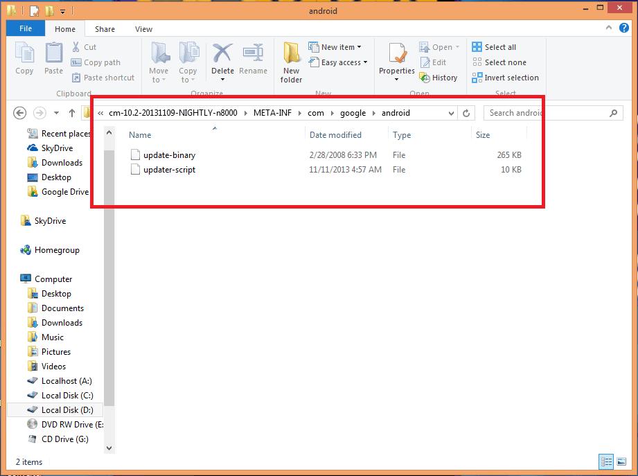 archivos error status 7 - Error Status 7 Android al instalar ROM desde Recovery