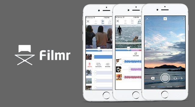 Filmr - 4 apps para editar videos