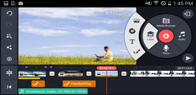 kinemaster aplicacion video