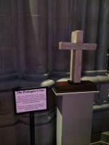 9/11袭击五角大楼残骸制成的十字架