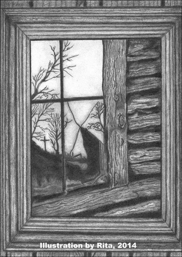 Graphite Illustration by Rita Kay Whitt aka WHITTnessForChrist 2014