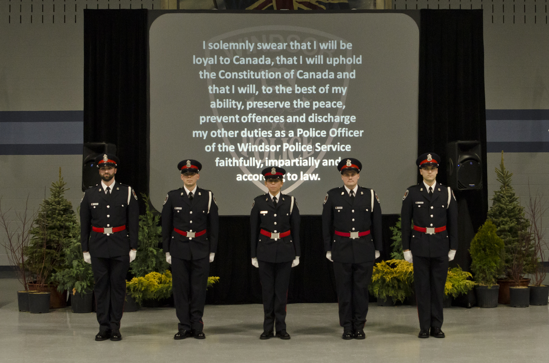 PHOTOS: Windsor Police Service Welcomes New Recruits ...