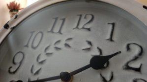 Windsor Lane Alzheimer Dementia secured unit close up clock