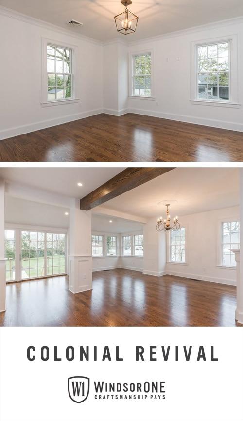 Colonial Revival Room In NH WindsorONE