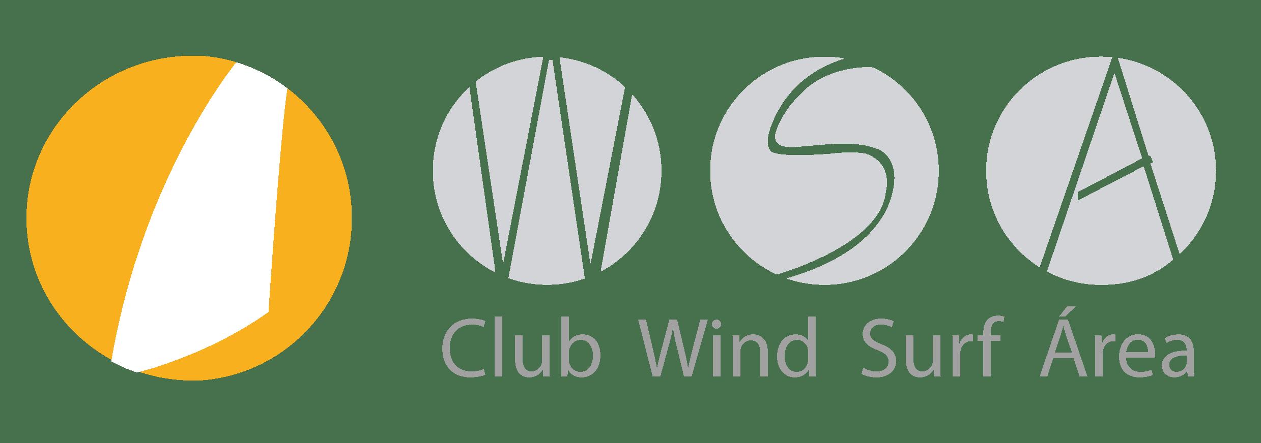 Logo del club wind surf área de santa pola