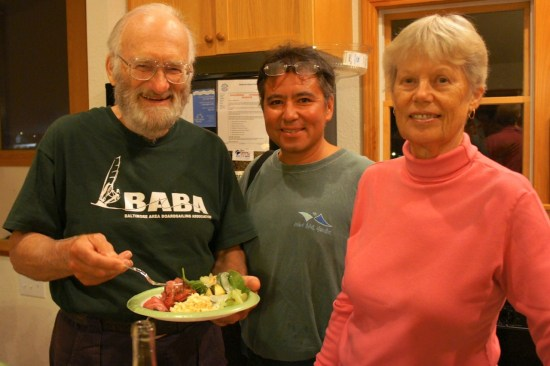 Bill, Dave and Helen