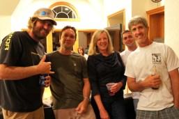 Ken, Clyde, Pam, Chris and Mark