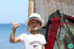 Обучение виндсерфингу на острове Кос с 5 лет