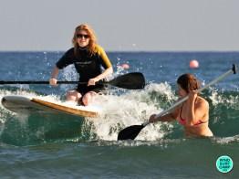 САП серфинг в Медано