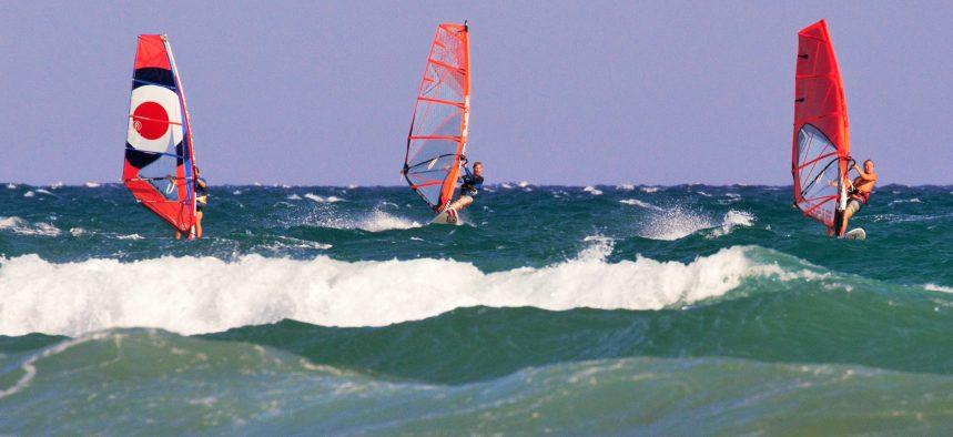 Виндсерфинг на Кипре в Ларнаке