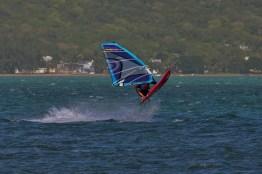 Windsurfing in Mauritius Le Morne