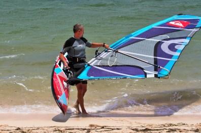 Windsurfing Fanatic Board and NailPryde Sail Mauritius