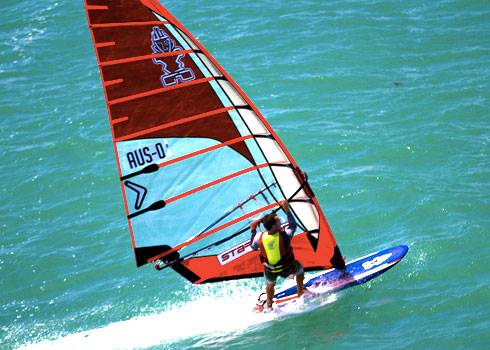 Steven Aleen at the 2014 Lancelin OCean Classic