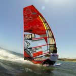 Bjorn Dunkerbeck tuning up for Luderitz Speed Challenge