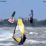 Double jump in Leucate