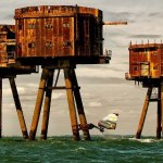 Maunsell Forts Ten miles off the Isle of Sheppey