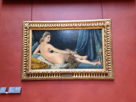 La Grande Odalisque by Jean-Auguste-Dominique Ingres.