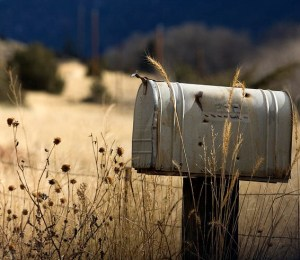 rural mailbox with curved top