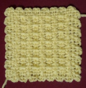 The finished square