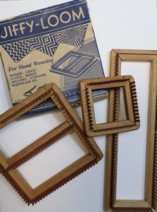Some of my small collection of Jiffy Looms