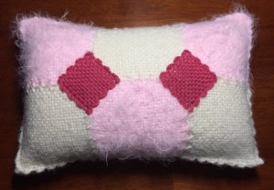 Front view of pillow.
