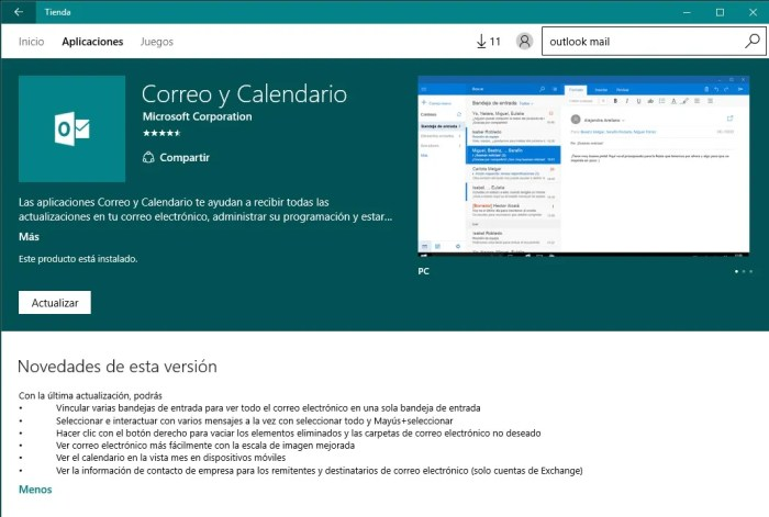 app-actualizaciones-windows-10