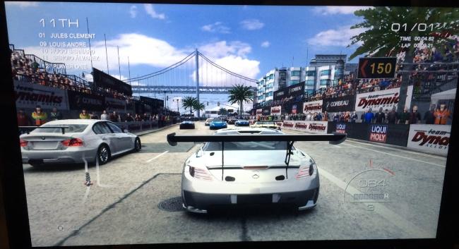 GRID Autosport ejecutándose con Mesa