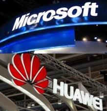 Microsoft Huawei