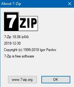 7-zip 1806