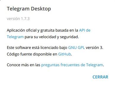 Telegram 1.7.3