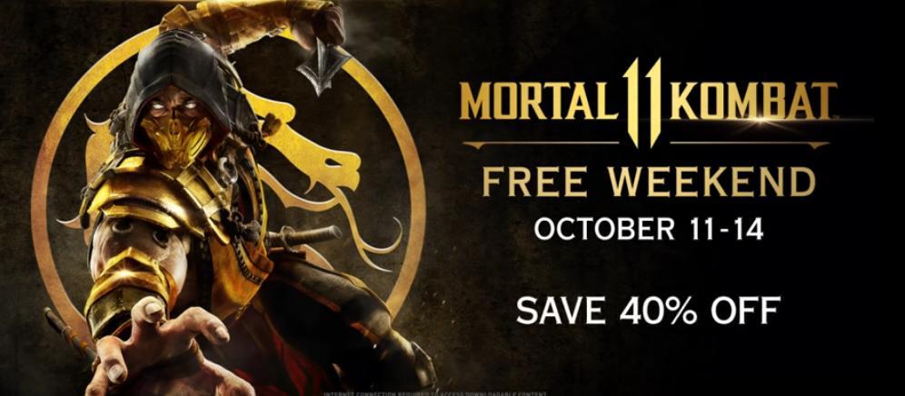 Mortal Kombat 11 gratis xbox one