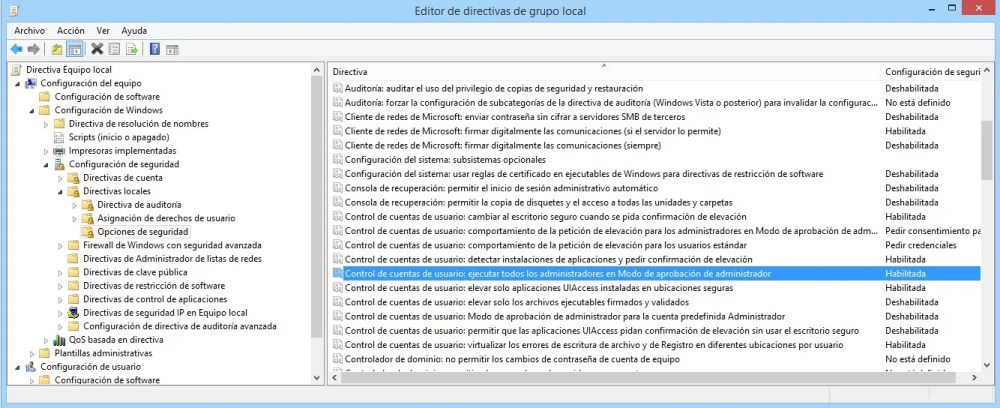 bug windows 7 gepedit solucion