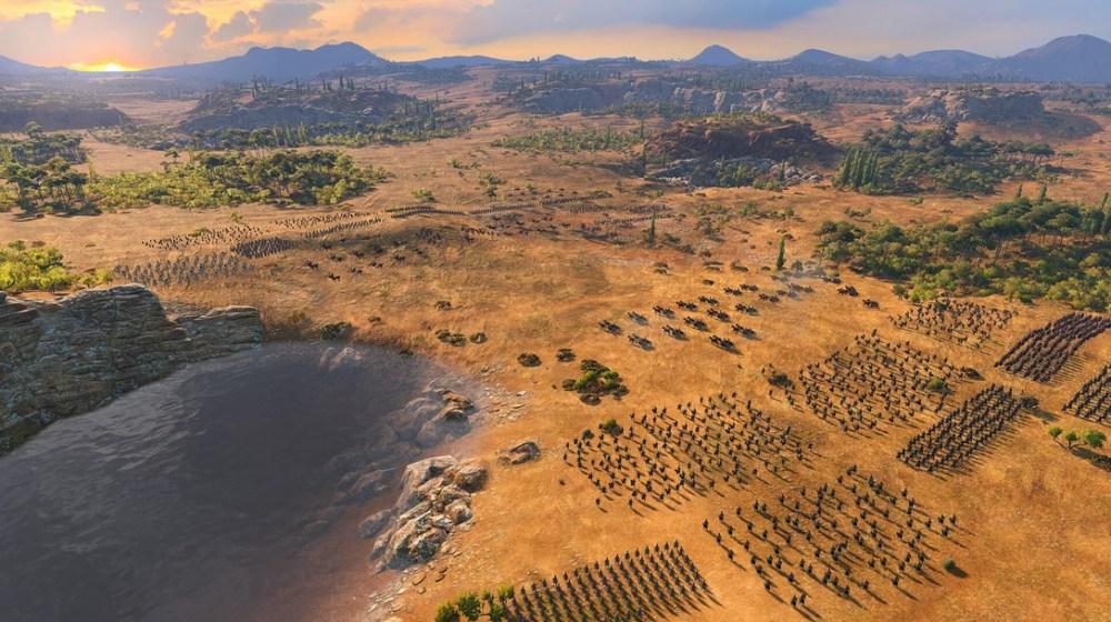 creando un imperio en Total War Saga: Troy