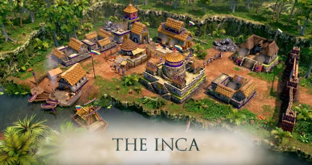 incas en Age of Empires III: Definitive Edition