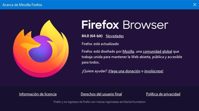 firefox browser 84