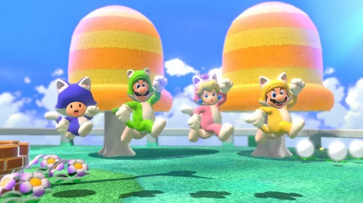 habilidades felinas super mario 3d world