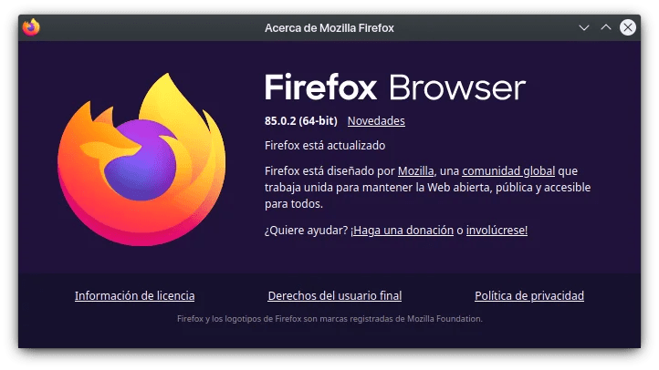 firefox browser 85.0.2