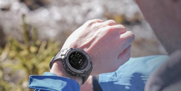 smartwatch amazfit t rex pro