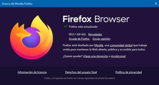 firefox browser 90.0.1