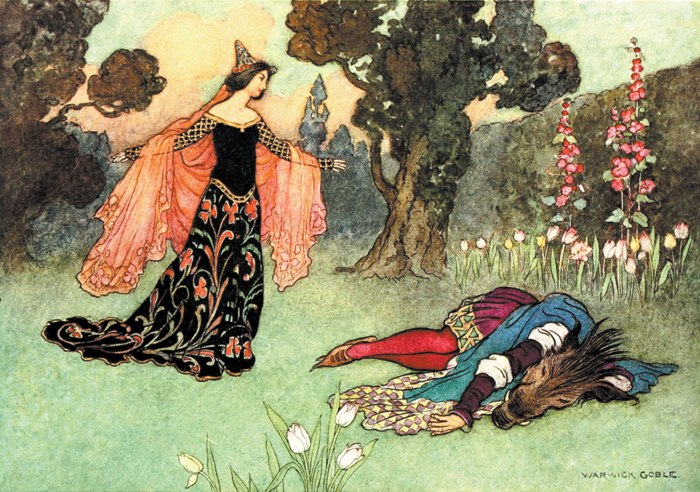 The Beauty and the Beast, Warwick Goble