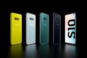 Samsung Varese: Samsung S10e in varie colorazioni
