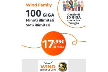Promozione Wind Family