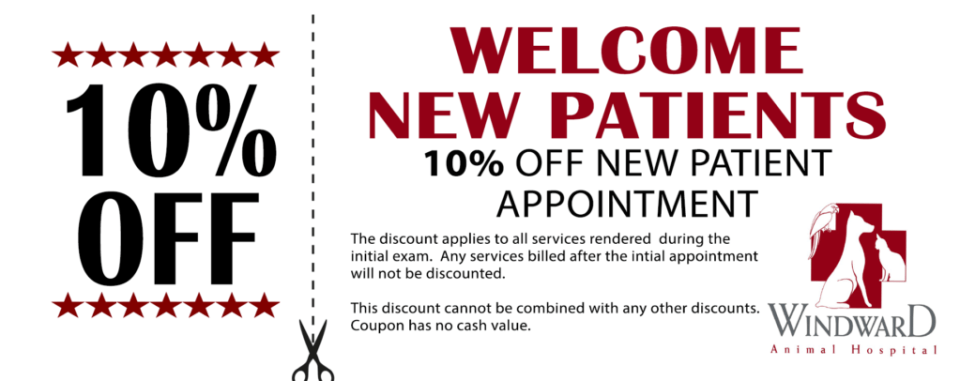 windward new customer coupon