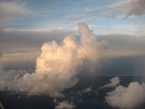 Tropical cumulus over Martinique