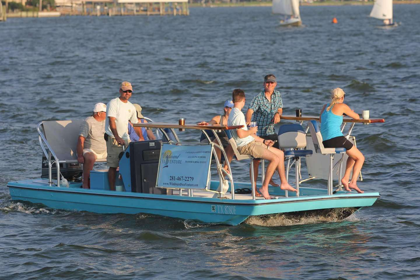 Windward seaventure sailing charter company in kemah tx for The windward