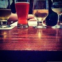 Midwestern beer and cider pairings at Farmhouse. Photo: Amanda Elliott