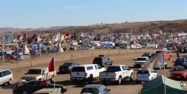 Oceti Sakowin Camp located at Sacred Stone Park in North Dakota